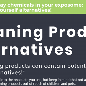 Everyday Chemicals in your Exposome: DIY Cleaning Product Alternatives!