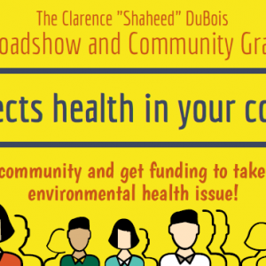 Applications Open for Exposome Roadshow and Community Grant Program