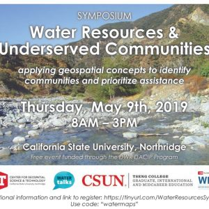 Water Resources and Underserved Communities Symposium